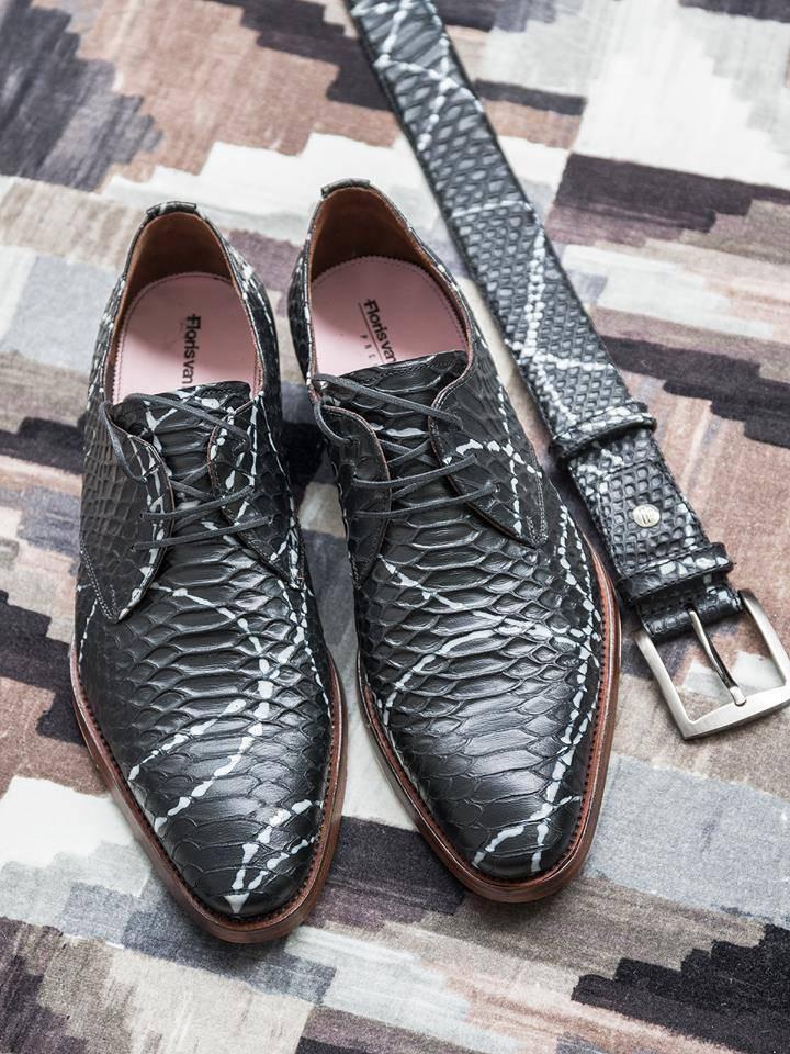 Manieren om schoenen te combineren met je riem