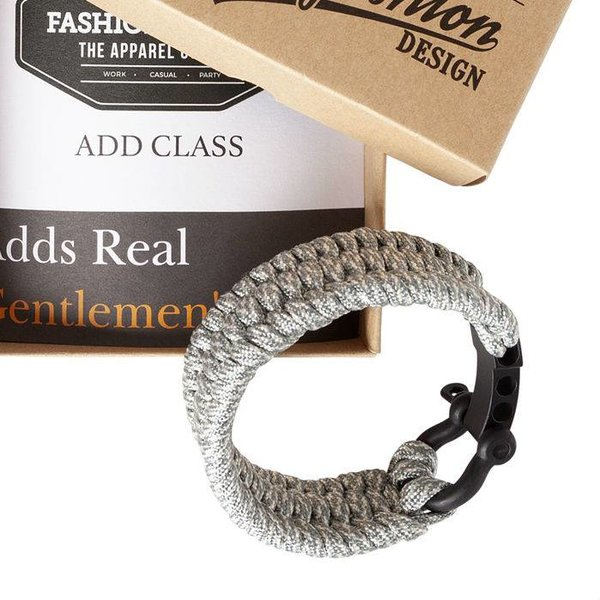 Paracord Outdoor Armband in het