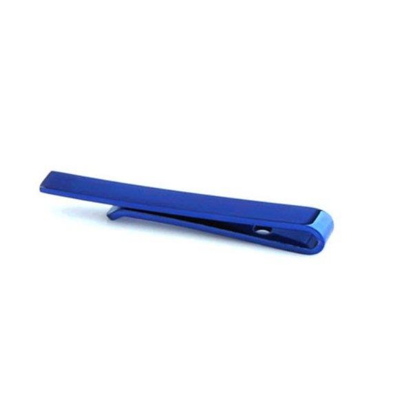 Designer Tie Clip Blue in het