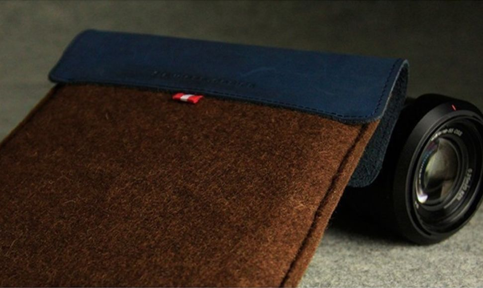 Wool Felt Sleeve iPad Mini hoes (8 inch Tablet)