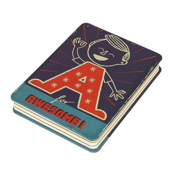 A is for Awesome Notitieblok - Paul Thurlby