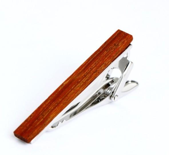 Tie Clip Wood