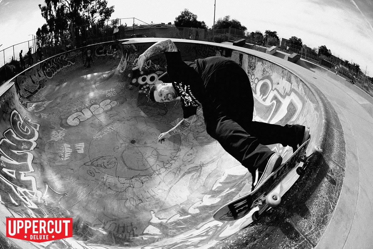Eric Dressen, Skateboarder en gebruiker van Uppercut