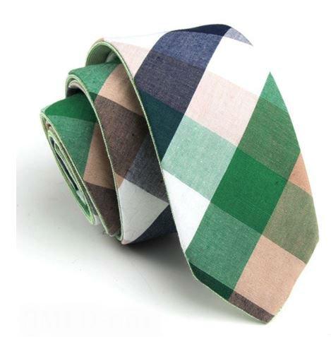 Fresh Green Tie Cotton