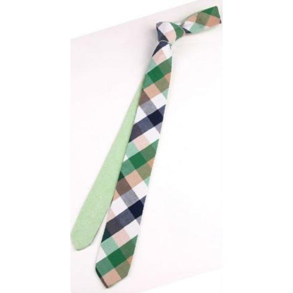 Fresh Green Tie Cotton in het