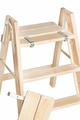Houten schilderstrap (inklapbare trap)