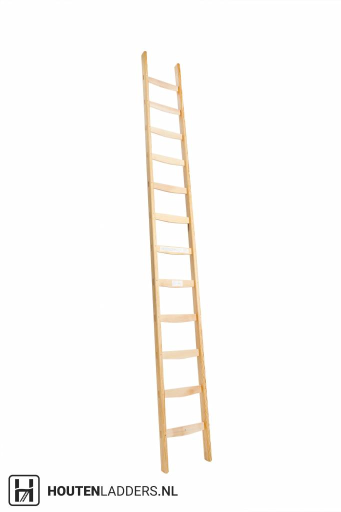 Robuuste Houten Ladder.Professionel Enkel Houten Ladder Vaste Ladder Houtenladders Nl