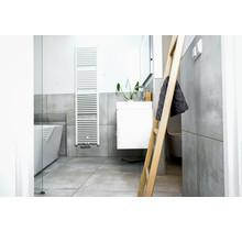 Badkamer ladder eikenhout nature gelakt