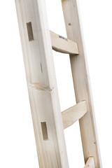 Professionele houten bouwladder