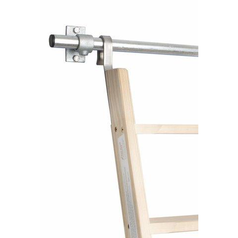 Bevestigingsrail Kunststof doppen 60 cm