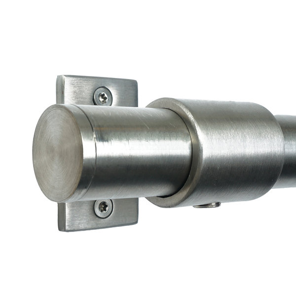 Hilberts Bevestigingsstang RVS (60-325cm)