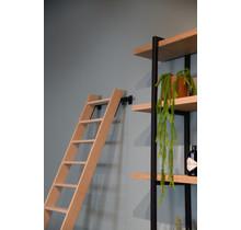 Hoogslaper trap beuken (meubelmakerstrap)