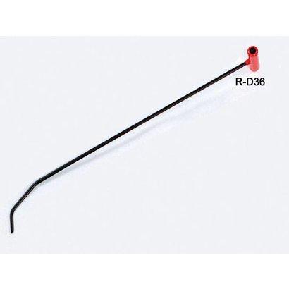 """Double Bend Par Rod 7/16 """"Ø36"""