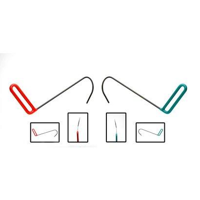 Offset Hook Set (2 stuks)