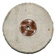 "Polijstpad Wheelstation Wit Sisal (6""x2"")"