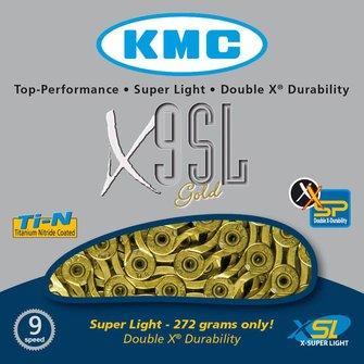 KMC X9-SL Goud/Zilver