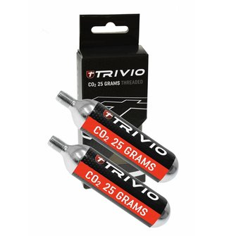Trivio Co2-Bomb 25gr. 2 stuks