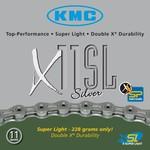 KMC X11SL 11sp. ketting goud/zilver