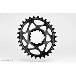 Absolute Black Ovaal kettingblad Sram GXP direct mount