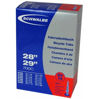 "Schwalbe Binnenband SV19 29"""