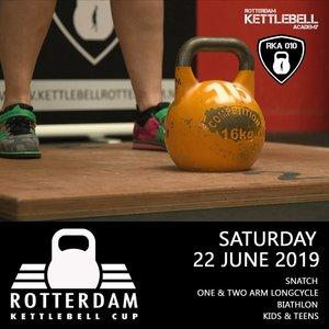 Ticket Rotterdam Kettlebell Cup Kids & Teens