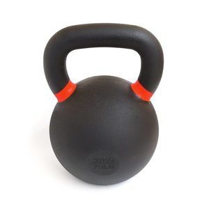 Kettlebell 32 kg poedercoating - Powder coat kettlebell