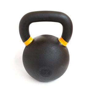Kettlebell 28 kg poedercoating - Powder coat kettlebell
