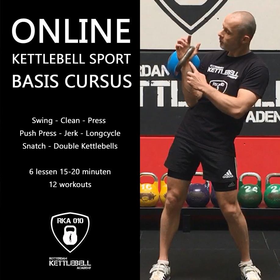 Online Kettlebell Sport Basis Cursus