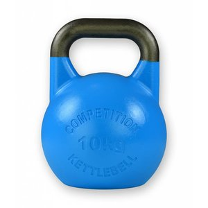 Competition kettlebell 10 kg staal - competitie kettlebell