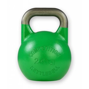 Competition kettlebell 24 kg staal - competitie kettlebell