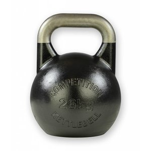 Competition kettlebell 26 kg staal - competitie kettlebell