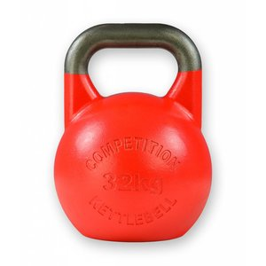 Competition kettlebell 32 kg staal - competitie kettlebell