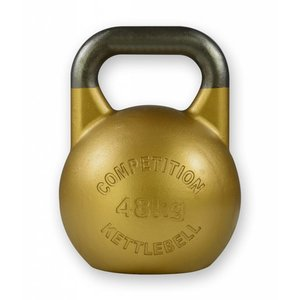 Competition kettlebell 48 kg staal - competitie kettlebell