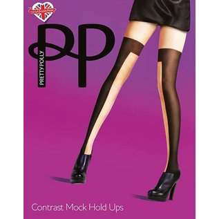 Pretty Polly Opaque/Sheer panty