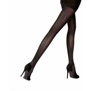 Pretty Polly Printed Backseam Tights
