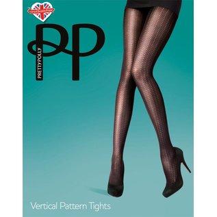 Pretty Polly Pretty Polly Vertical Pattern Tights