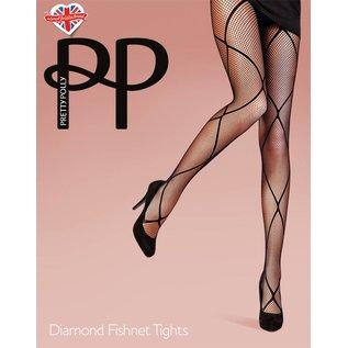 Pretty Polly Diamond Fishnet panty