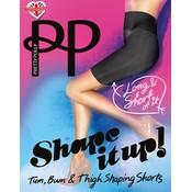 "Pretty Polly ""Shape it Up"" Long Line Shaper Shorts"