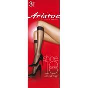 Aristoc 10D. Shine Kneehighs 3 pair