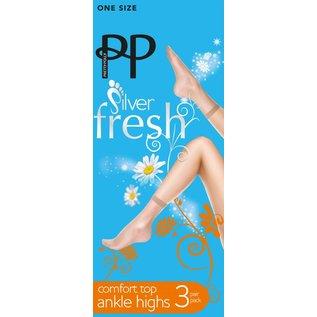 Pretty Polly Pretty Polly 15D. Anklehighs (3 pair)