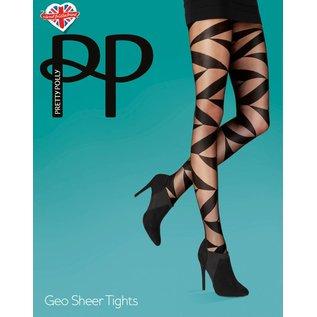 Pretty Polly Geo Sheer panty