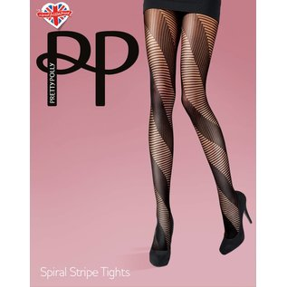 Pretty Polly Spiral Stripe Tights