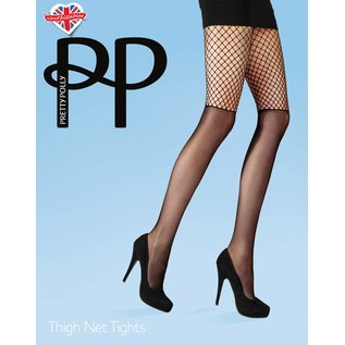 Pretty Polly Thigh Net Tights