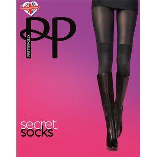 Pretty Polly Pretty Polly Secret Socks Panty _2 in 1 panty
