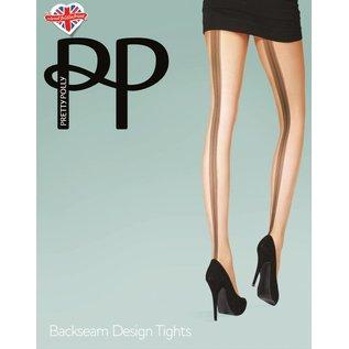 Pretty Polly Backseam Design panty
