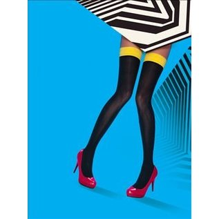 Pretty Polly Coloured Top Opaque Hold Ups