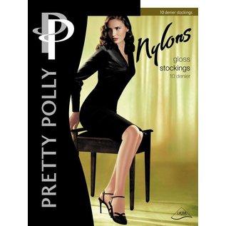 "Pretty Polly 10D. ""Nylons"" kousen voor jarretelles"