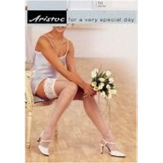 Aristoc 10D. Wedding Hold Ups with Lace Top