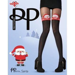 Pretty Polly Pretty Polly Kerst panty Jolly Santa