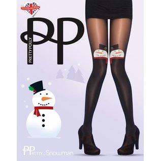 Pretty Polly Pretty Polly Xmas Frosty Snowman Tights